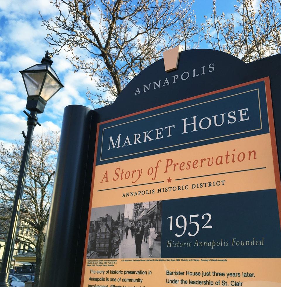 Annapolis Market House Kiosk
